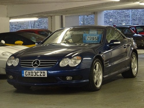2003 Mercedes-Benz SL Class 5.0 SL500 2dr AMG PACK + HUGE SPEC For Sale (picture 5 of 6)
