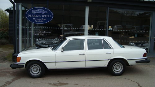 1980 Mercedes- Benz 300 S  Diesel LHD SOLD (picture 1 of 5)