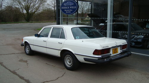 1980 Mercedes- Benz 300 S  Diesel LHD SOLD (picture 3 of 5)