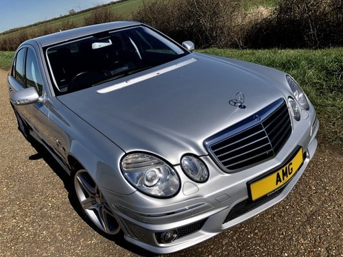 Mercedes E63 AMG SOLD (picture 1 of 5)