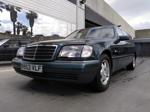 Mercedes-Benz - S320 (170 kW 228 hp) - 1998 For Sale (picture 1 of 6)