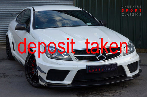 2012 Mercedes C63 AMG Black Series - Aero, Carbon, 36k, FMBSH. SOLD (picture 1 of 6)