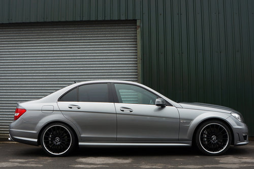 2013 Mercedes C63 AMG Saloon, 37k, 1 Former Keeper, FSH, Superb SOLD (picture 2 of 6)