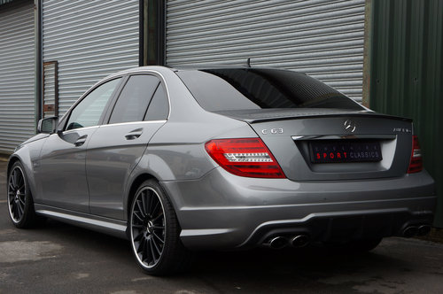 2013 Mercedes C63 AMG Saloon, 37k, 1 Former Keeper, FSH, Superb SOLD (picture 3 of 6)