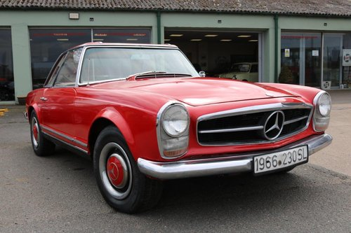 1966 Mercedes 230SL Pagoda - Restoration Project SOLD   Car And Classic