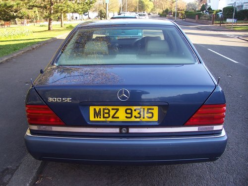 1992 MERCEDES 300 SE AUTOMATIC For Sale (picture 4 of 6)