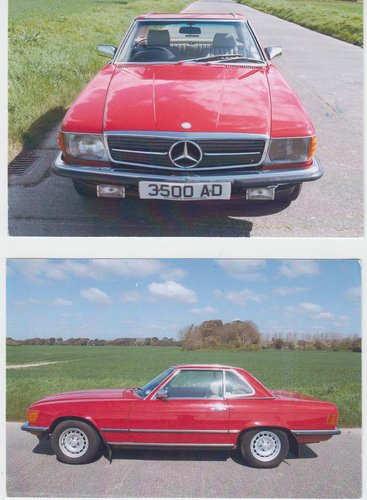 1985 MercedesBenz Convertable SOLD (picture 1 of 1)