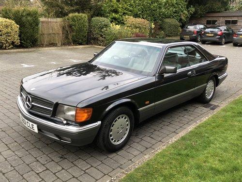 1989 Mercedes 560 Sec Sold Car And Classic