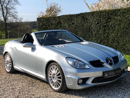 2006 Mercedes SLK 55 AMG **26,000 Miles, Full Mercedes History** For Sale (picture 1 of 6)