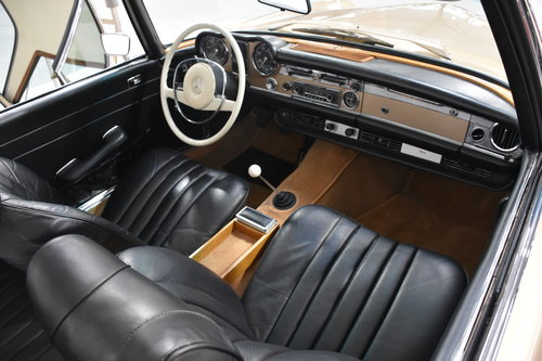 1968 Mercedes 280SL Pagoda California For Sale (picture 4 of 6)