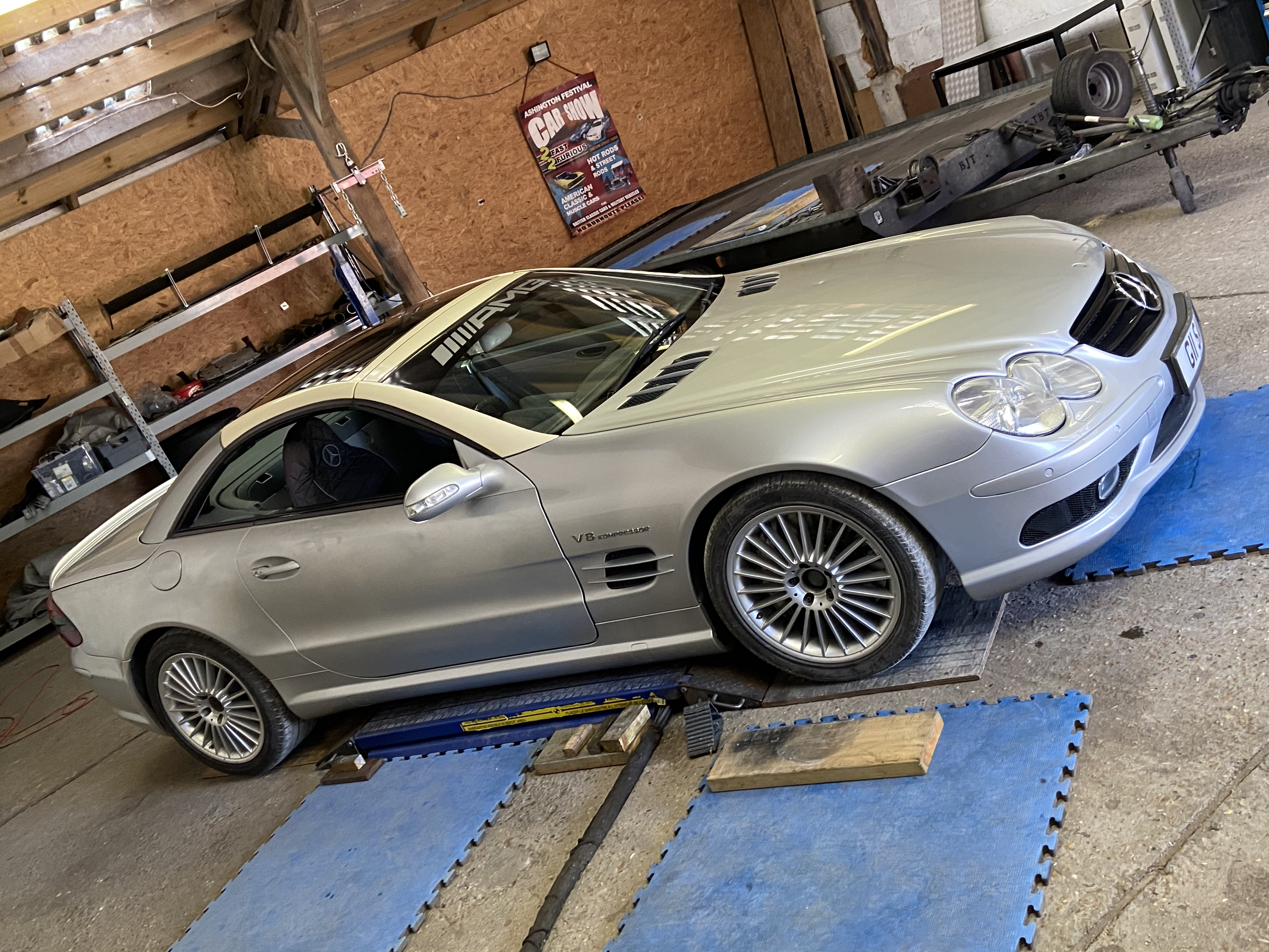 Mercedes Sl 55 amg sprint project unfinished Project