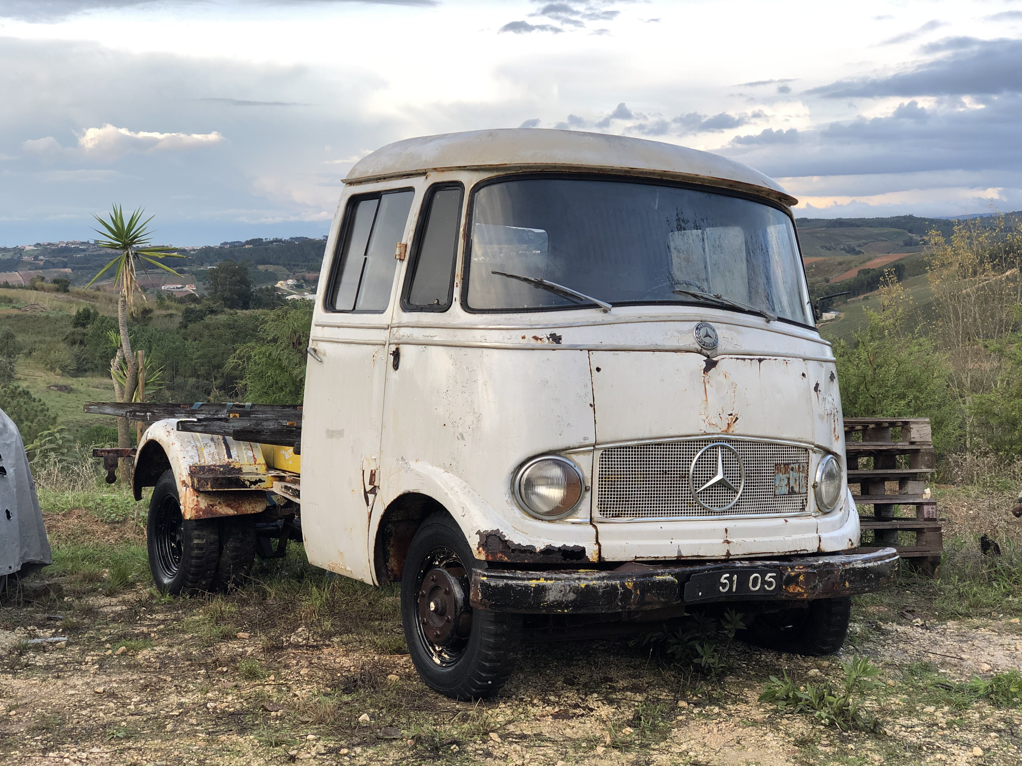 Picture of 1960 Mercedes L319 van truck O319