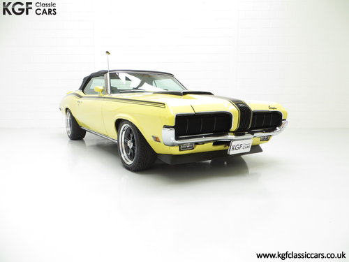 1969 A Thunderous Mercury Cougar Convertible with Amazing History SOLD (picture 1 of 6)