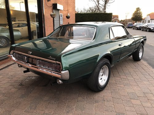 1967 Mercury Cougar XR7 289 V8 Coupe  SOLD (picture 2 of 6)