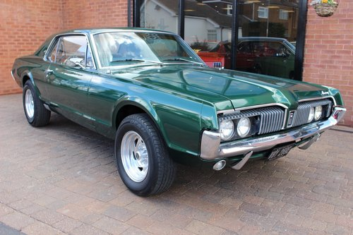 1967 Mercury Cougar XR7 289 V8 Coupe  SOLD (picture 1 of 6)