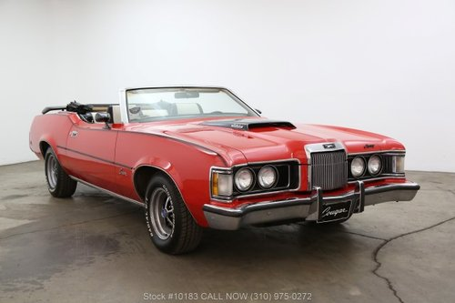 1973 Mercury Cougar For Sale (picture 1 of 6)