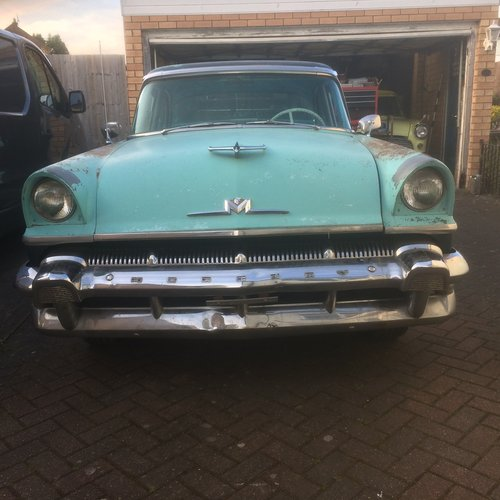 1956 MERCURY MONTEREY,PROJECT WILL PX ON A CADDY  SOLD (picture 1 of 6)