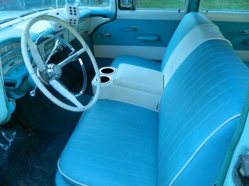 1956 MERCURY MONTEREY,PROJECT WILL PX ON A CADDY  SOLD (picture 2 of 6)