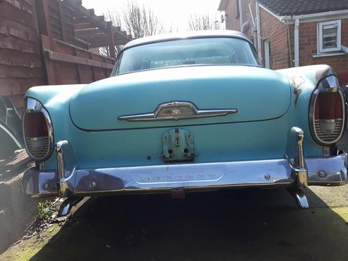 1956 MERCURY MONTEREY,PROJECT WILL PX ON A CADDY  SOLD (picture 3 of 6)