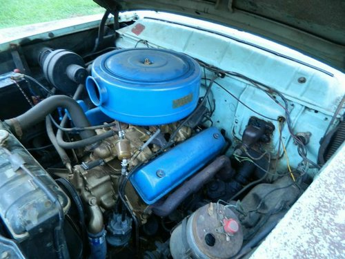 1956 MERCURY MONTEREY,PROJECT WILL PX ON A CADDY  SOLD (picture 4 of 6)