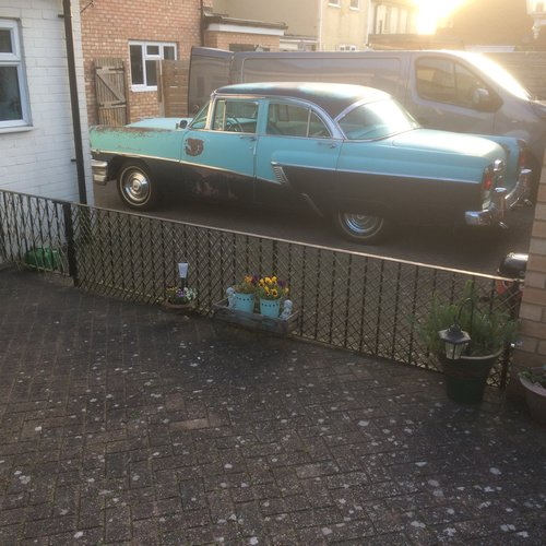 1956 MERCURY MONTEREY,PROJECT WILL PX ON A CADDY  SOLD (picture 6 of 6)