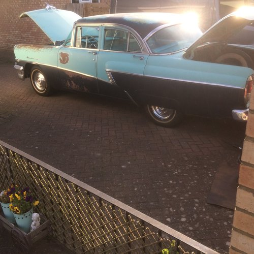 1956 MERCURY MONTEREY,PROJECT WILL PX ON A CADDY  SOLD (picture 5 of 6)