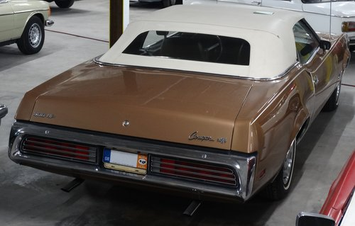 1972 Mercury Cougar XR7 Convertible, excellent condition For Sale (picture 2 of 6)