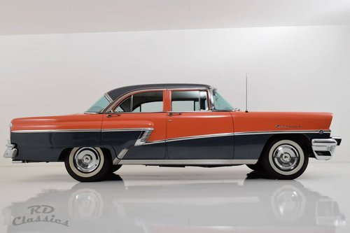 1956 Mercury Monterey Two Tone 4D Sedan For Sale (picture 3 of 6)