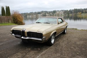 "1970 Mercury Cougar, Rare ""Houndstooth"" edition. For Sale by Auction"