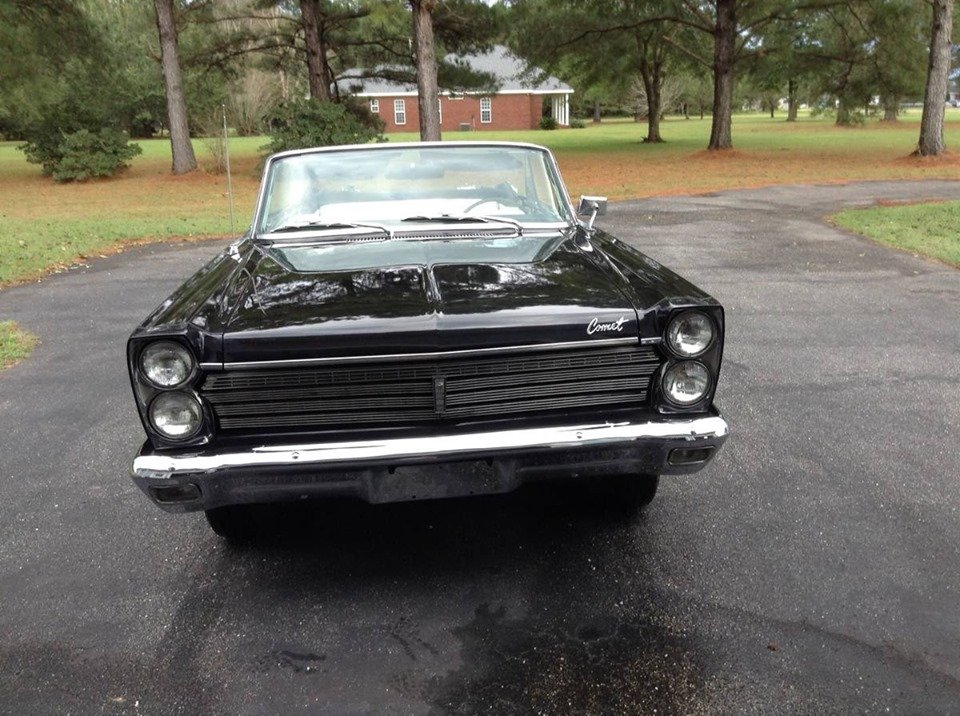 1965 Mercury Comet Caliente Convertible For Sale (picture 1 of 6)