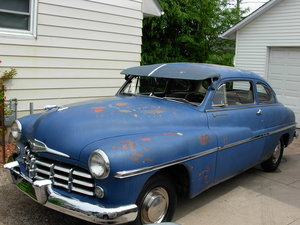 1949 mercury,monarch 2 dr coupe For Sale