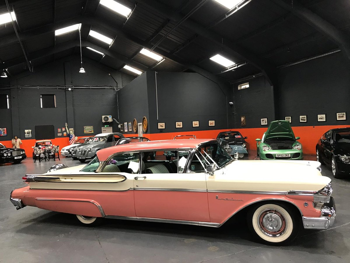 1957 MERCURY MONT CLAIR - AMERICAN CLASSIC - Ivory overPink For Sale (picture 2 of 6)