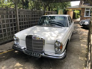 1972 Mercedes W108 280se 3.5 Low mileage