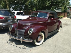 1939 Mercury Convertible  For Sale by Auction