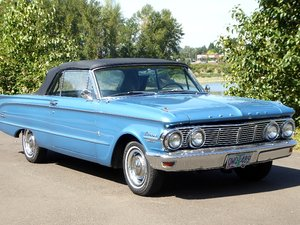 1970 Mercury Comet Convertible = clean Blue(~)Blue $18.5k