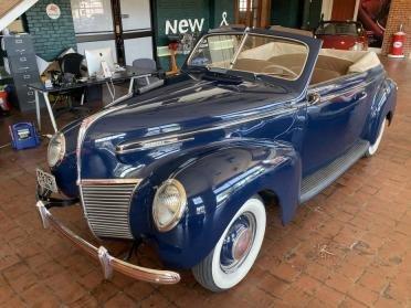 1939 Mercury 99a Sport Convertible Restored Blue Rare $45.9k For Sale