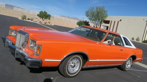 1979 Mercury Cougar XR7 351 v8 AT Orange(~)Ivory $5.9k For Sale