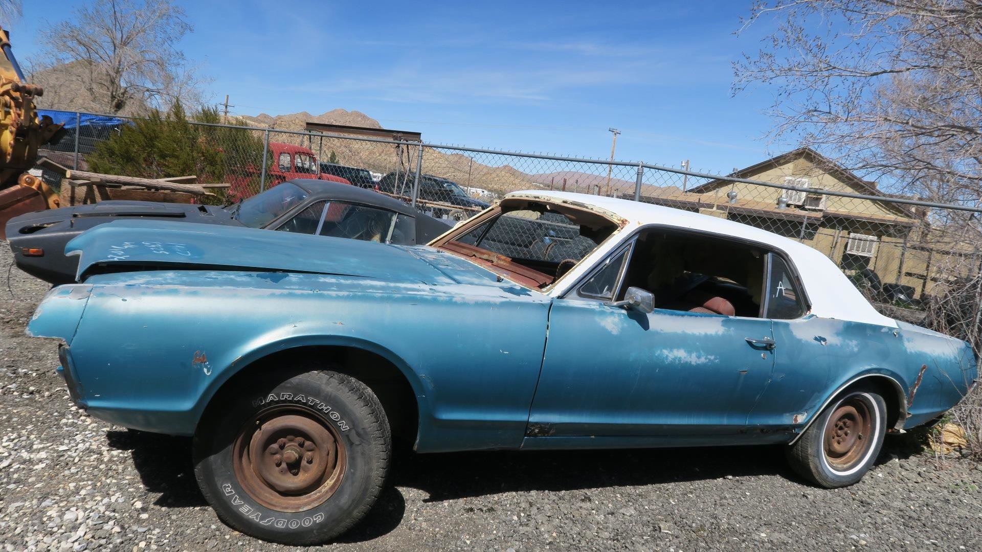1967 Mercury Cougar 289 C Code Auto Project Blue  $1.9k For Sale (picture 1 of 6)