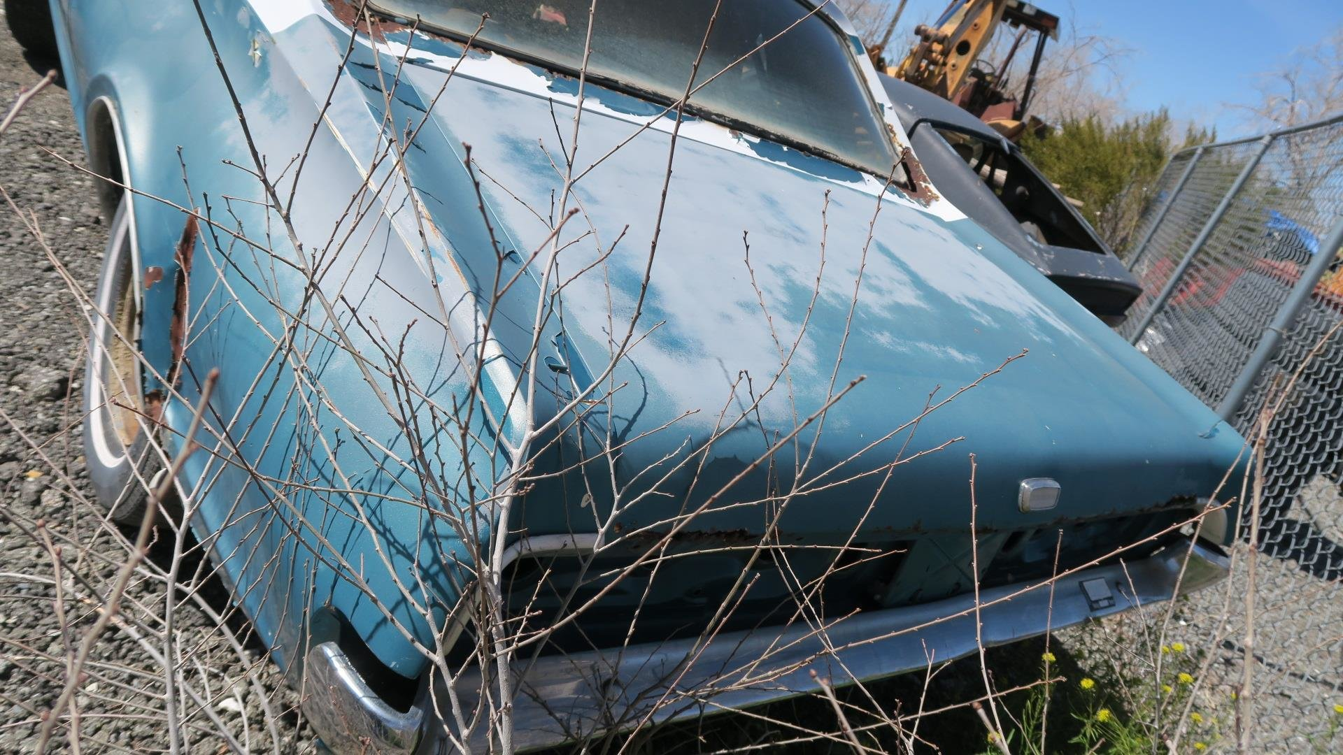 1967 Mercury Cougar 289 C Code Auto Project Blue  $1.9k For Sale (picture 3 of 6)