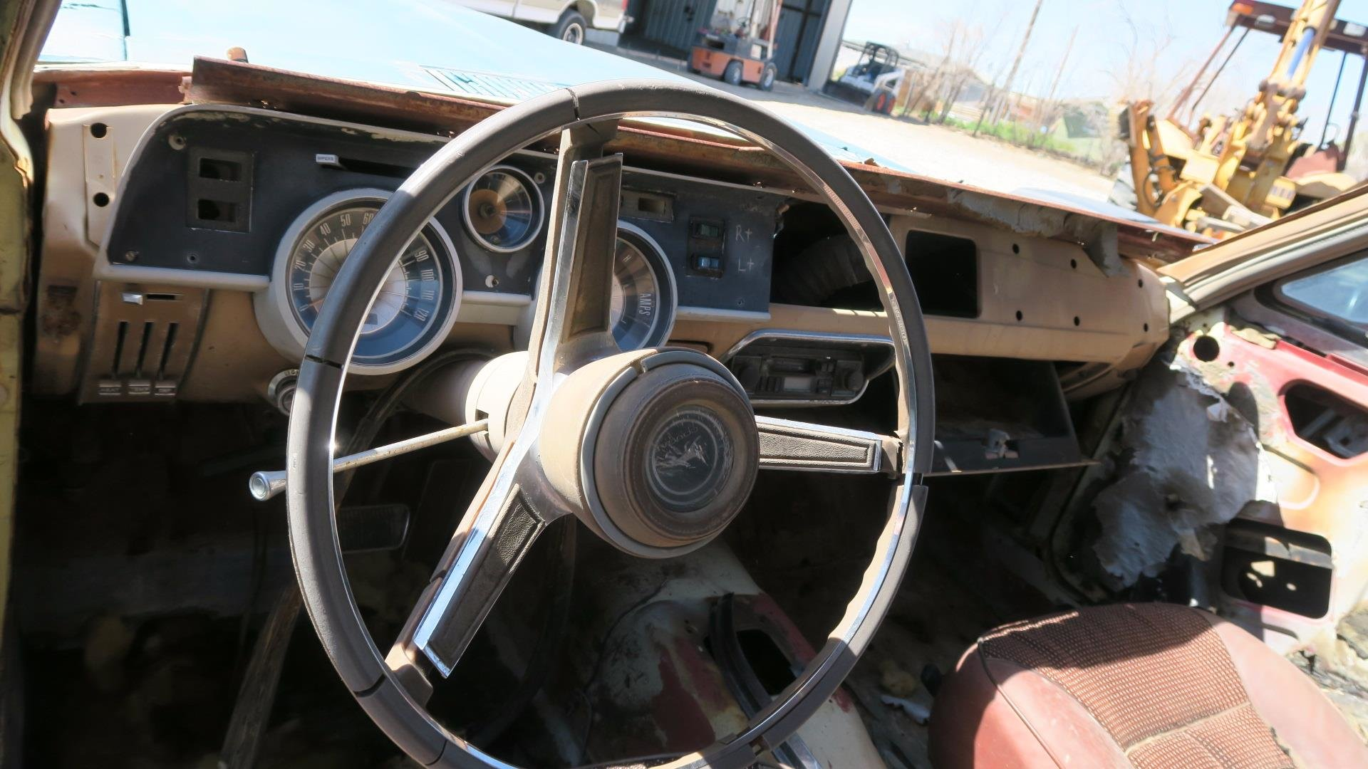 1967 Mercury Cougar 289 C Code Auto Project Blue  $1.9k For Sale (picture 5 of 6)