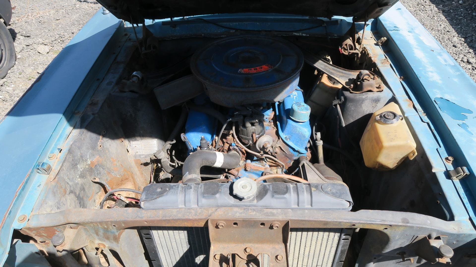 1967 Mercury Cougar 289 C Code Auto Project Blue  $1.9k For Sale (picture 6 of 6)