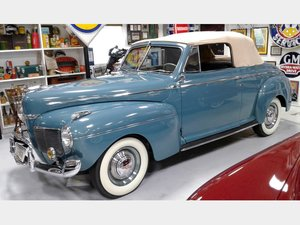 1941 Mercury Model Eight Club Convertible Coupe