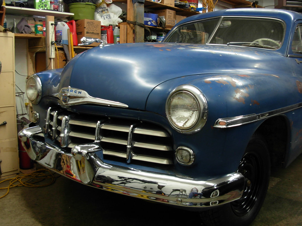 1949 Monarch 2 door coupe For Sale (picture 3 of 6)