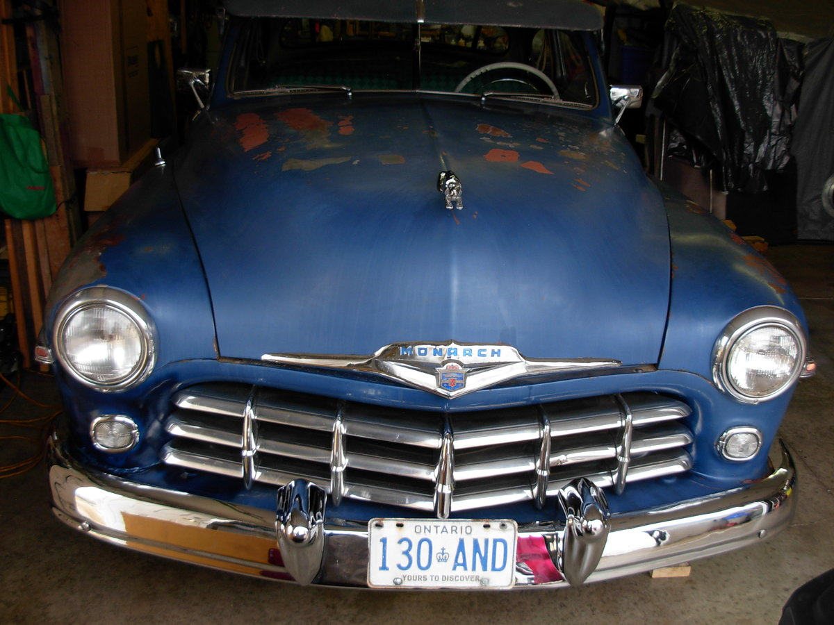 1949 Monarch 2 door coupe For Sale (picture 6 of 6)