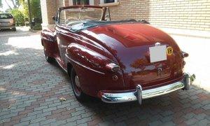 1947 Ford Mercury cabriolet V8 original engine
