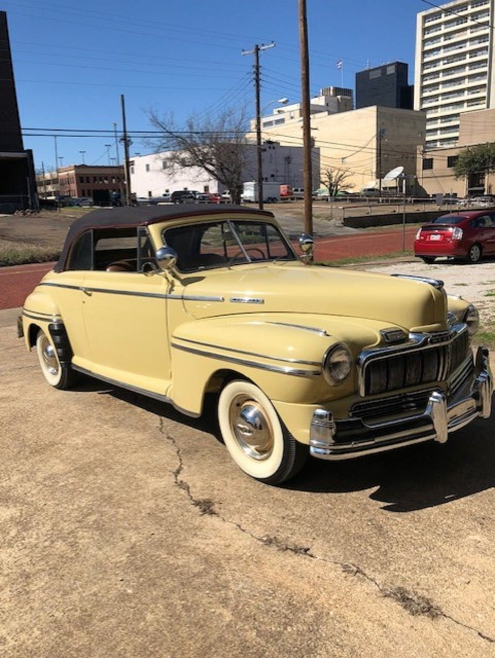 1947 Mercury 8 Convertible For Sale (picture 1 of 6)