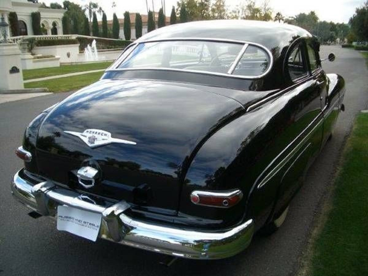 1950 Mercury Monarch 2DR Coupe For Sale (picture 4 of 6)