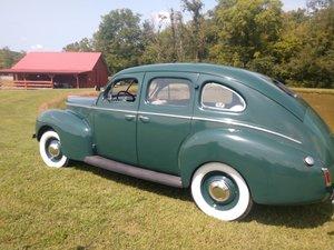 1940 Mercury Town Sedan  ---1 of the good ones!