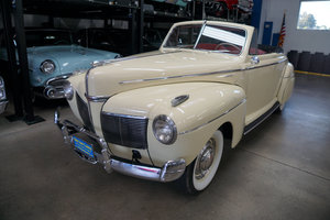 1941 Mercury 239 V8 2 Dr Convertible Coupe