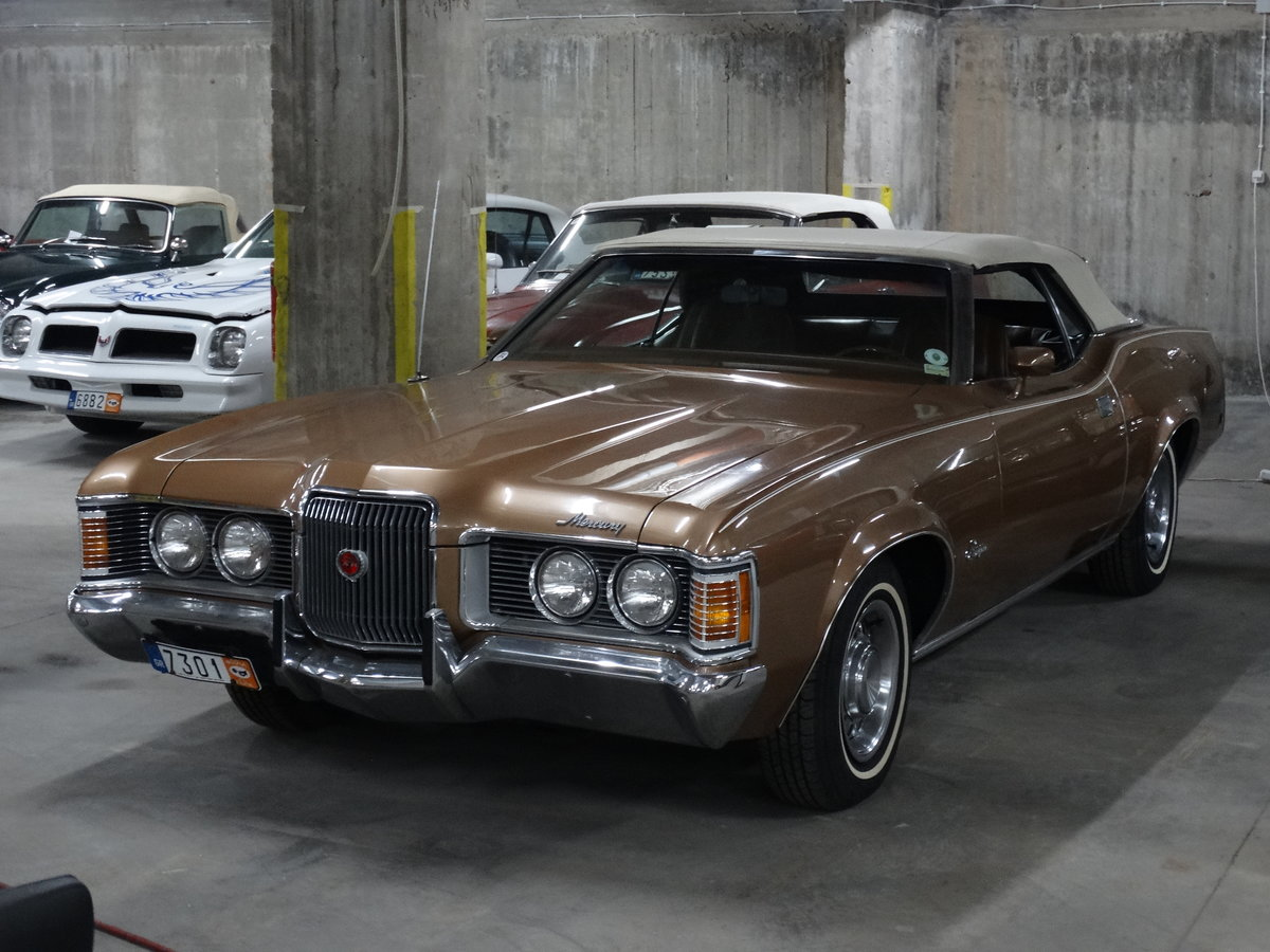 1972 Mercury Cougar XR7 Convertible, excellent condition For Sale (picture 1 of 6)